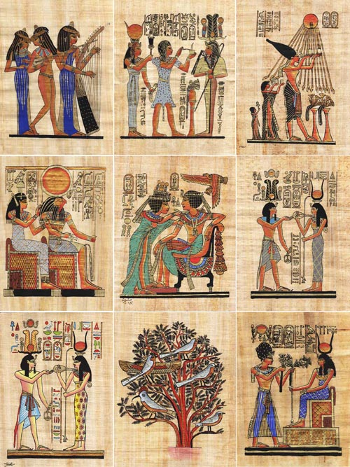 an analysis of the topic of the egyptian papyrus The singer of amun nany's funerary papyrus the goddess and principles of truth and wisdom.